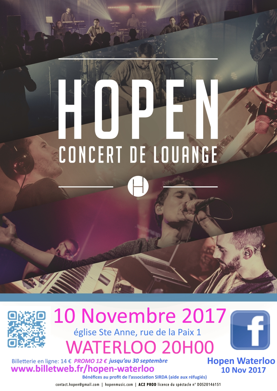 Hopen affiche10 NOV 2017 WATERLOO